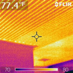 electric ceiling heat